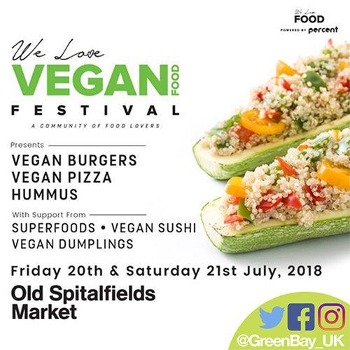 East London Vegan Food Festival Happening This Weekend