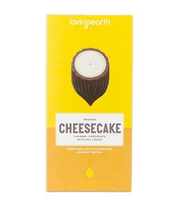 Loving Earth Loving Earth Lemon Caramel Cheesecake Chocolate 80g