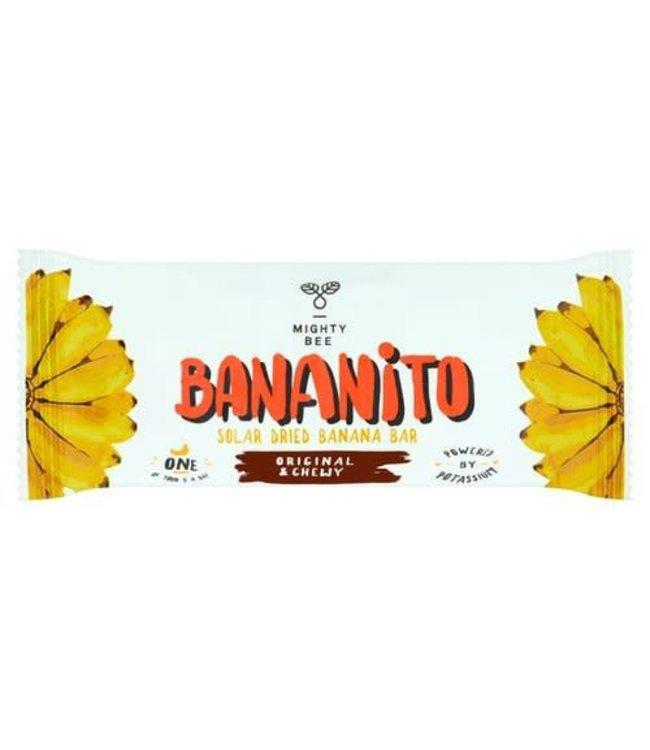 Mighty Bee Bananito Banana Bar - Dried - 40g