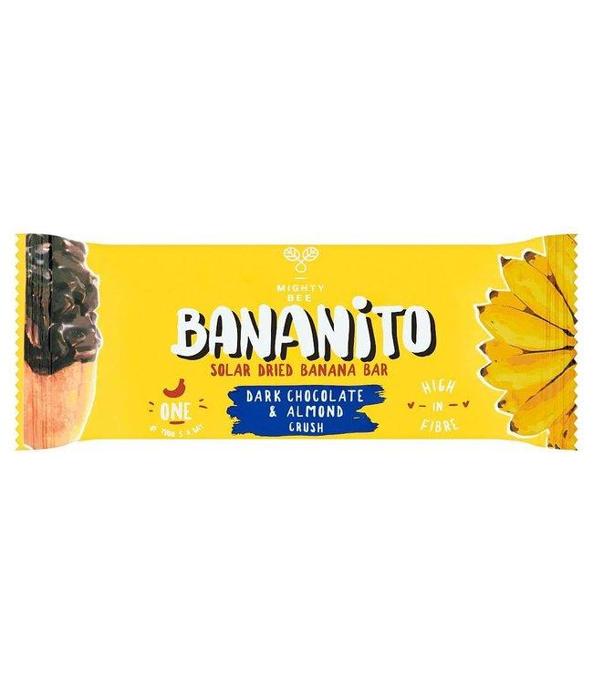 Mighty Bee Bananito Banana Bar Chocolate & Almond - 30g