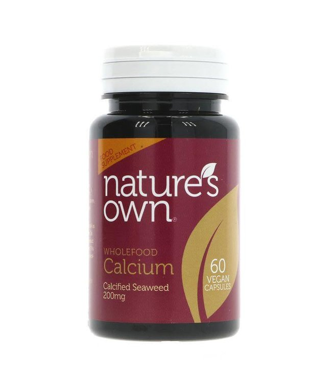 Natures Own Natures Own Calcium - from seaweed - 60 caps