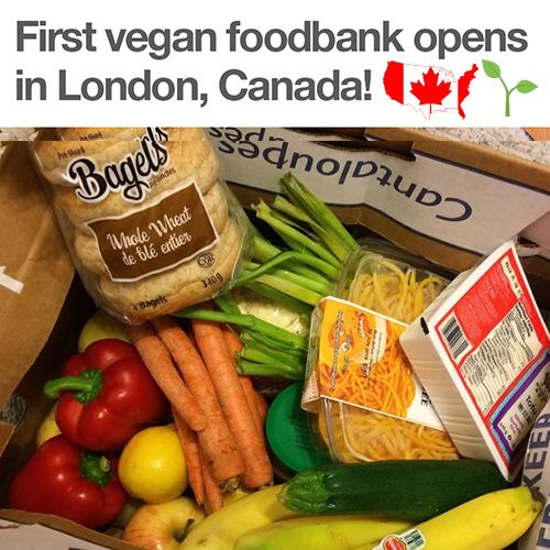 First All-Vegan Food Bank Opens in London... Canada!