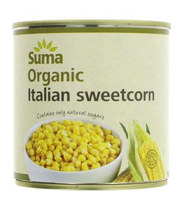 Suma Suma Italian Sweetcorn - Organic 340g