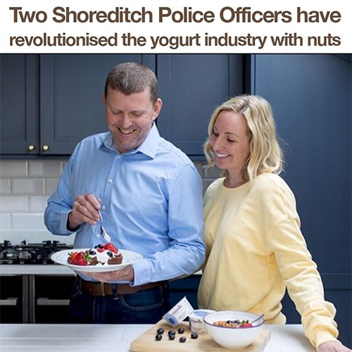 Two Shoreditch Police Officers Have Revolutionised the Yogurt Industry with Nuts!