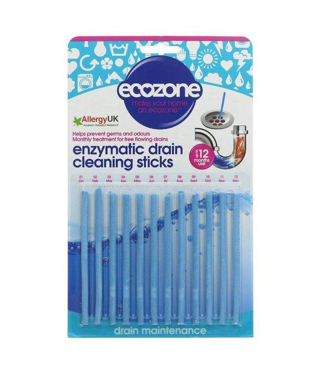 Ecozone Ecozone Enzymatic Drain Sticks - 12 x 23g