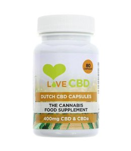 Love Cbd Love Cbd Dutch CBD Oil Capsules - 80 caps
