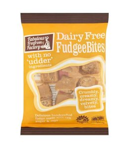 Fabulous Freefrom Factory Fabulous Free From Factory Dairy Free Fudgee Bites 75g