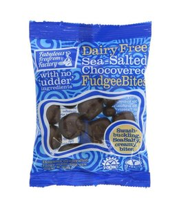 Fabulous Freefrom Factory Fabulous Freefrom Factory Dairy Free Sea-Salted Chocovered Fudgee Bites 65g