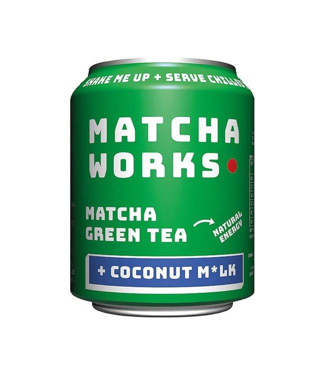 Matcha Works Matcha Works Matcha & Coconut M*lk Green Tea 250ml