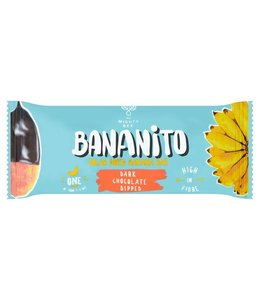 Bananito Bananito Banana Bar - Dark Chocolate - 25g
