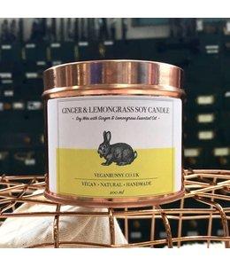 Vegan Bunny Vegan Bunny Lemongrass candle 200ml