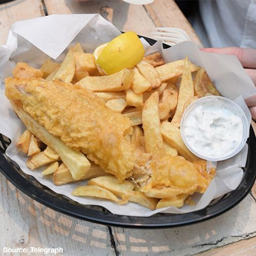London's First All-Vegan Fish and Chip Shop is Open!