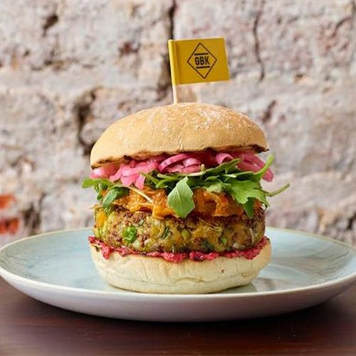 Vegan Jackfruit Burger Launches in Gourmet Burger Kitchen