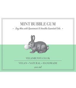 Vegan Bunny Vegan Bunny Mint Bubblegum candle 200ml