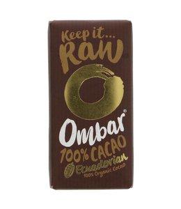Ombar Ombar Raw Chocolate 100% Raw Chocolate 35g
