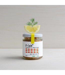 F-ish F-ish (Smoked Vegan Salmon) - Lemon + Dill 150g
