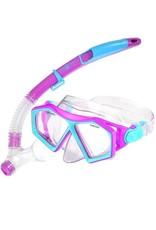 Aqua Lung Molokai Mask Spout Snorkel 5+