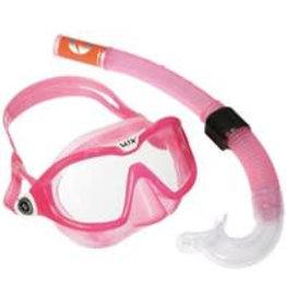 Reef DX 2 Clear Lens + Snorkel Pink