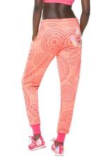 Desigual Pant_L Tracksuit Pant P Pink