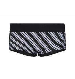 Glidesoul Vibrant Stripes 0.5MM Bikini Shorts Maat M