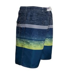 Boy's Fashion Swim Trunks Distressed Stripes