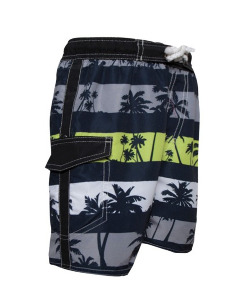 Boy's Fashion Swim Trunks Palm Tree