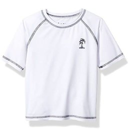 ixtreme Little Boy's Fashion Rash Guard White
