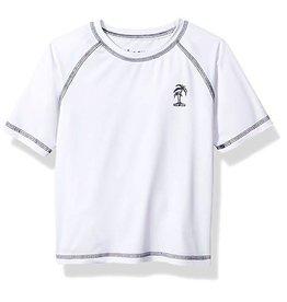 Little Boy's Fashion Rash Guard White
