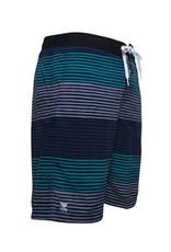 Men's Fashion Multi-Color Stripe Pattern Swim Trunk