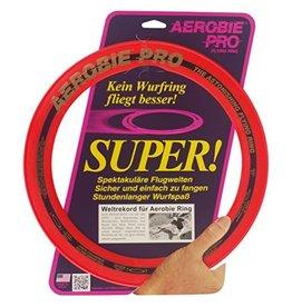 Aerobie Pro flying ring Rood