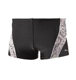 BECO heren zwemboxer, zwart/wit