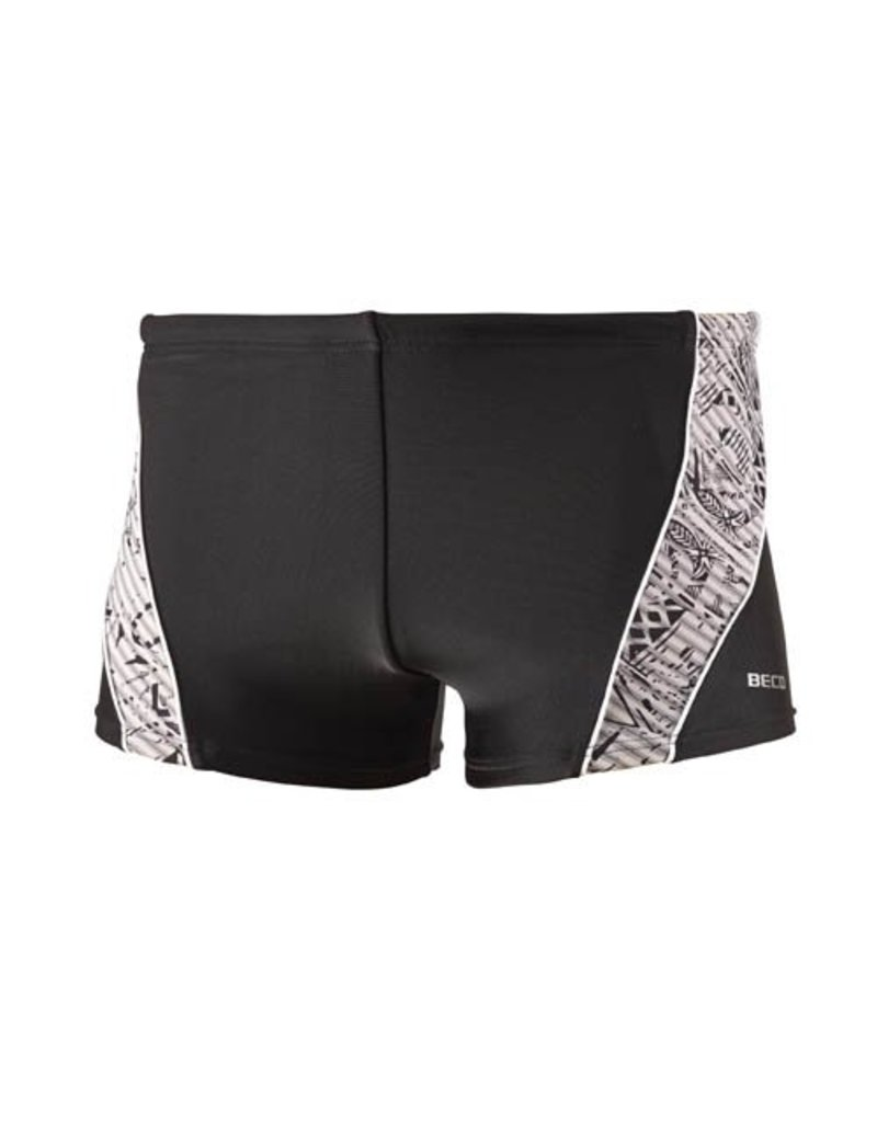 Beco BECO heren zwemboxer, zwart/wit
