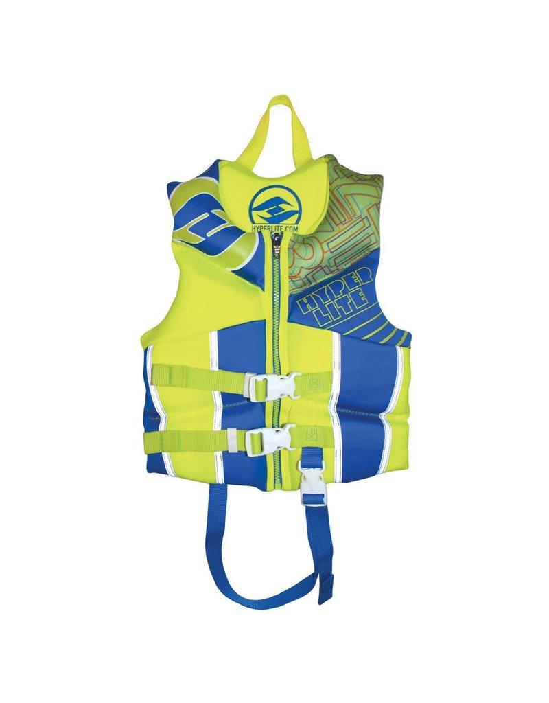 Hyperlite Hyperlite Boyz Child Indy Vest Blue/Yellow