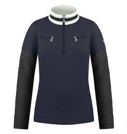 Poivre Blanc 1st layer sweater gothic blue/ black