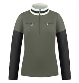 Poivre Blanc 1st layer sweater khaki grey/ black
