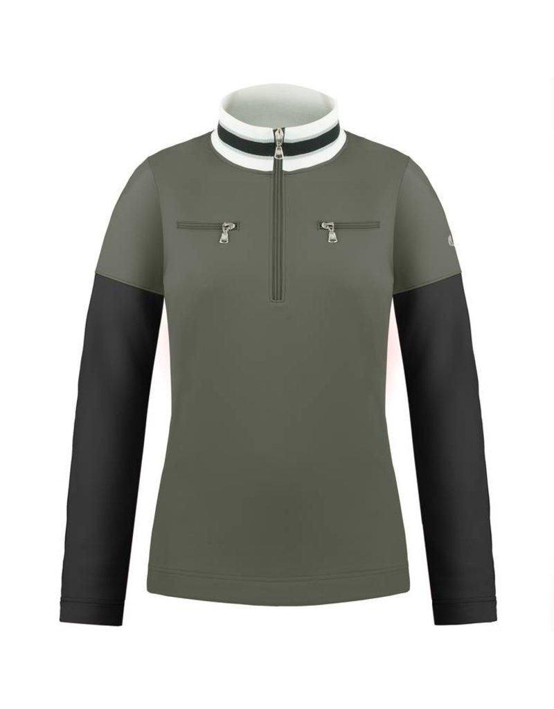 1st layer sweater khaki grey/ black
