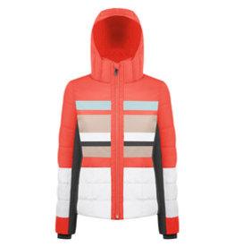 Poivre Blanc Ski Jacket nectar orange/ multico