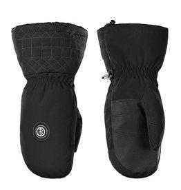 Stretch ski mittens black