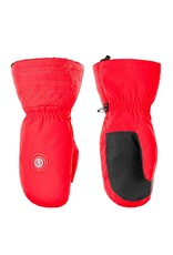 Poivre Blanc Stretch ski mittens scarlet red