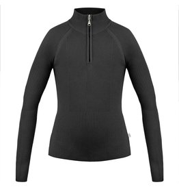 Poivre Blanc Knit Sweater Black