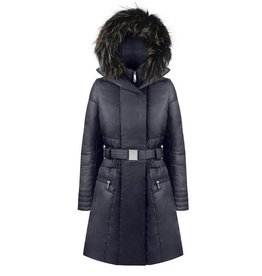 Poivre Blanc Down Coat Gothic Blue