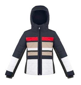 Poivre Blanc Ski Jacket Gothic Blue/Multi