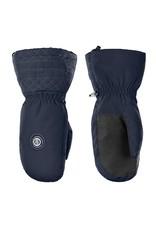Poivre Blanc Stretch ski mittens gothic blue