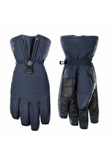 Stretch ski gloves gothic blue