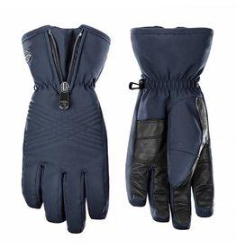 Stretch ski gloves gothic blue