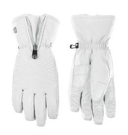 Poivre Blanc Stretch ski gloves white
