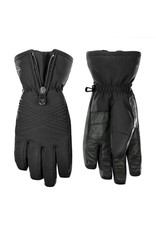 Poivre Blanc Stretch ski gloves black