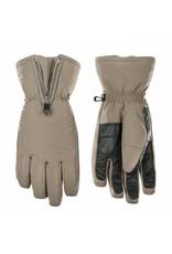 Poivre Blanc Stretch ski gloves khaki grey