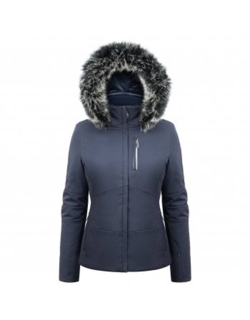 Poivre Blanc Stretch Ski Jacket Gothic Blue