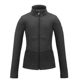 Poivre Blanc Stretch Fleece Jacket Gothic/Blue